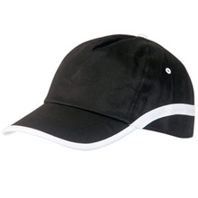 promotional Cap with velcro fastening, 5 panels,W4V7067,colour: Black,Caps & Hats,Water4Fish,promotional products