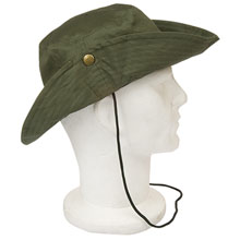 promotional Hat safari,W4V7073,colour: Green,Caps & Hats,Water4Fish,promotional products