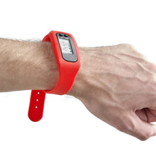 Promotional Wristband with pedometer