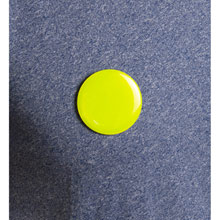 Promotional Button badge with safety pin