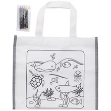 Promotional Bag for colouring, crayons