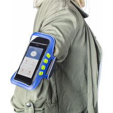Promotional Armband, case for mobile phone with LED light