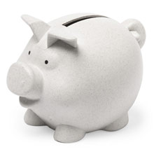 Promotional Bamboo piggy bank