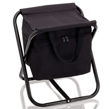 Cooler bag and chair,W4V7650,colour: Black,Navy Blue,Red,Cooler Bags,Water4Fish