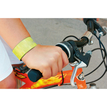 Promotional Reflective snap armband