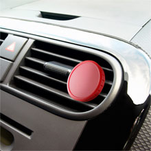 promotional Car air freshener,W4V7762,colour: Red,Car Promo Items,Water4Fish,promotional products