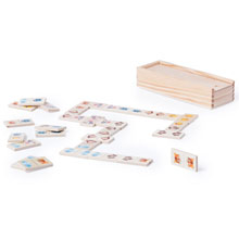 Promotional Domino game in wooden box