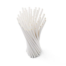 Promotional Paper drinking straw set, 50 pcs
