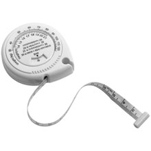 Promotional Measuring tape with BMI